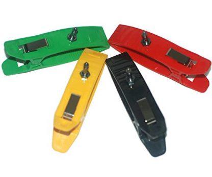 ALPTA Ecg Ekg Limb Clamp Clip Reusable Electrodes Ag AgCI Set of 4 Adult Size 4PCS/SET-0