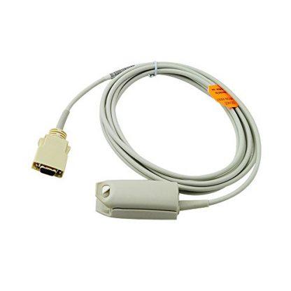 Masimo Spo2 Sensor Adult Finger Clip for Zoll Model M CCT Transport Monitor 10 feet-0