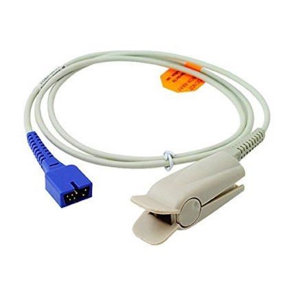 9pin 3ft Nellcor ds-100a adult finger clip oximax SpO2 sensor-0