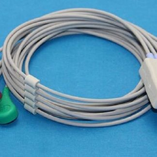 5Leads Drager Siemens ECG Cable And Leadwire AHA-0