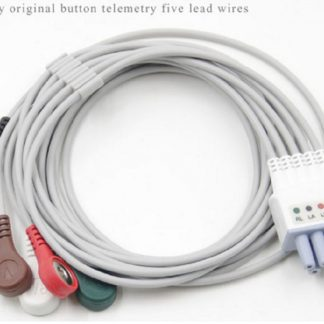 Mindray Original Button Telemetry Five Lead Wire EY6502B-0